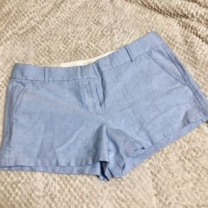 NWT J.crew Oxford Shorts City Fit